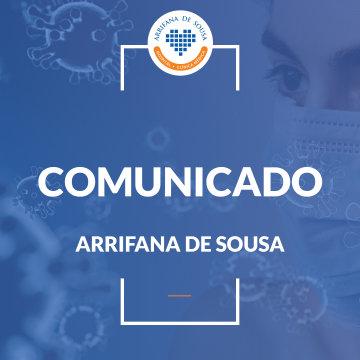 Comunicado Arrifana de Sousa